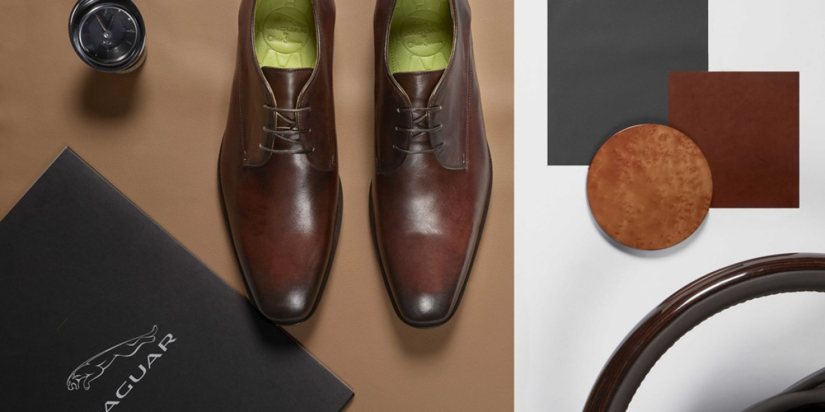 Zapatos de Oliver Sweeney para conducir Jaguar