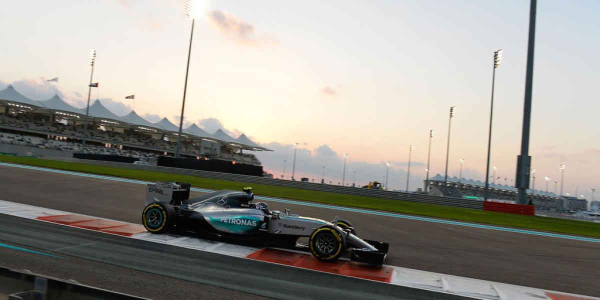 Triplete de Nico Rosberg