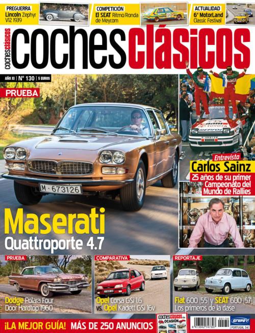 Revista COCHES CLÁSICOS número 130