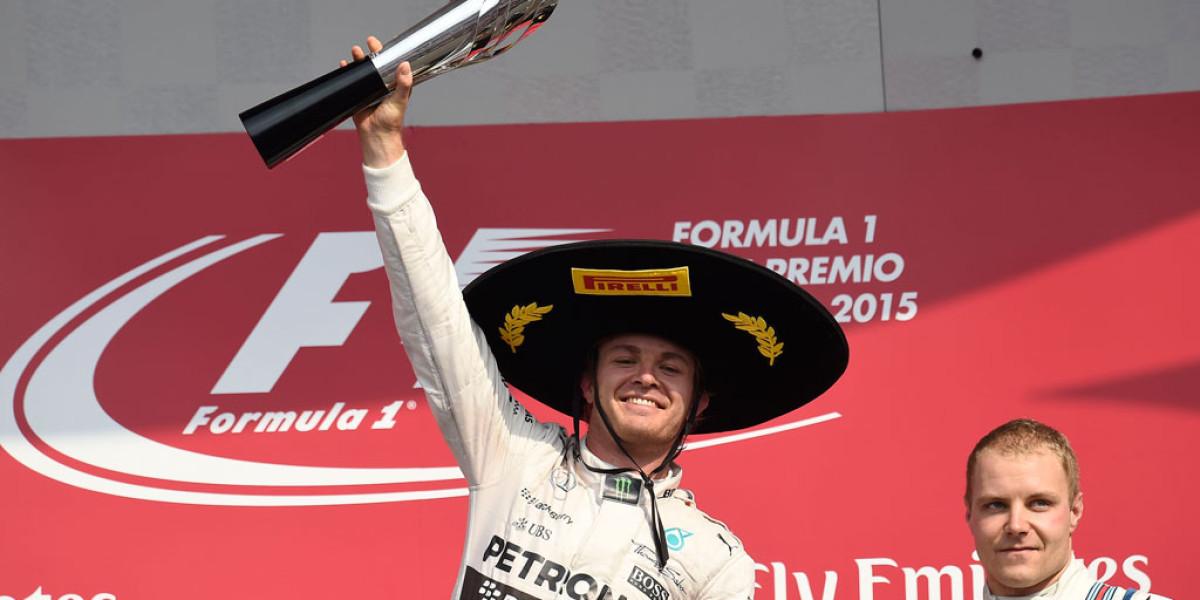 Rosberg gana el Gran Premio de México