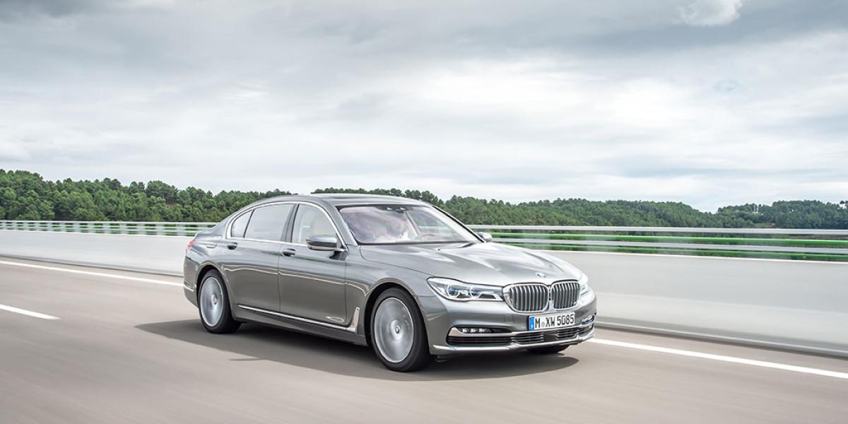 Máxima tecnología en la prueba del BMW Serie 7