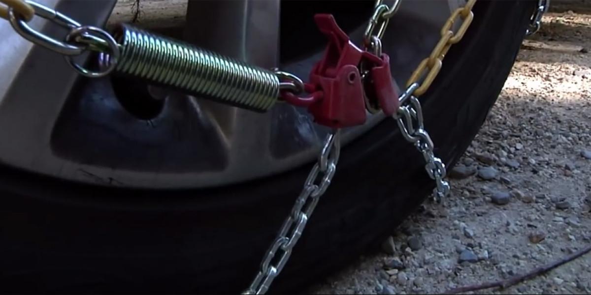 Aprende a poner las cadenas del coche