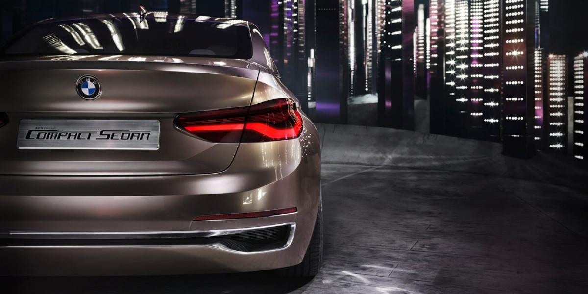 BMW Concept Compact Sedan: El Serie 1 de cuatro puertas