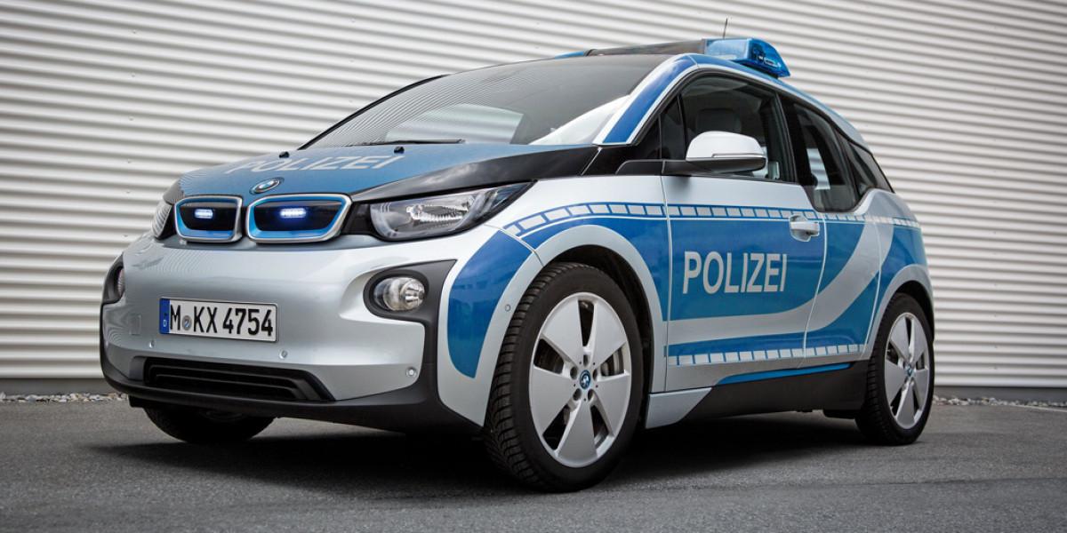 El BMW i3 se emplea en servicios de emergencia