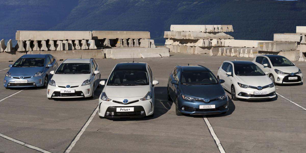 Cincuenta mil híbridos Toyota en España