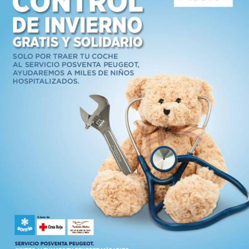 """""""Control de Invierno Gratis y Solidario"""" de Peugeot"""