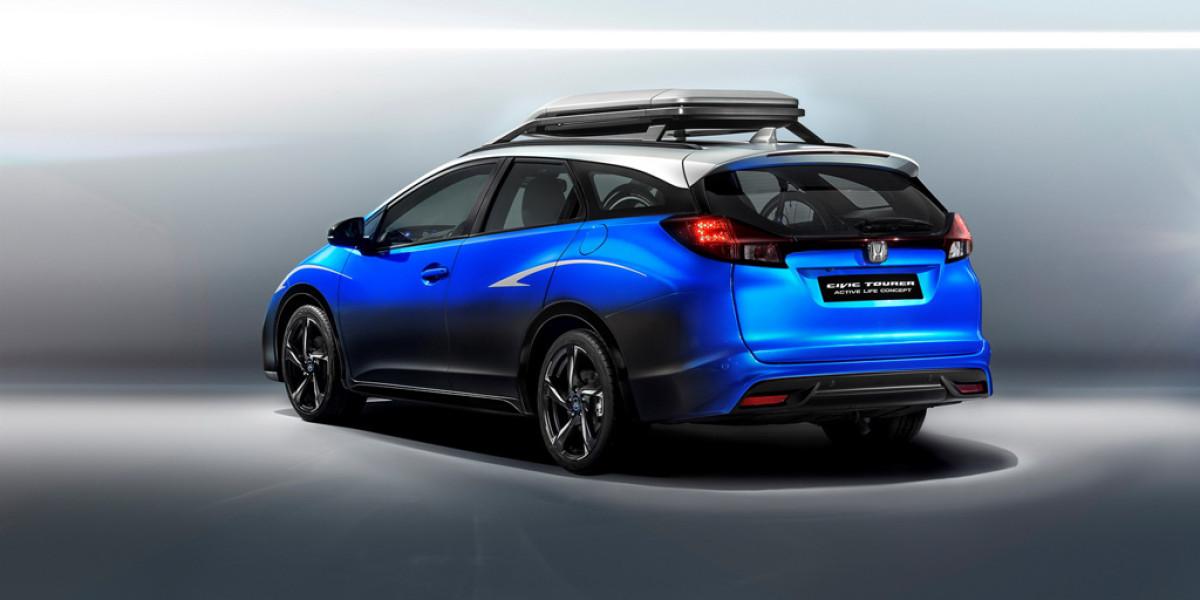Honda Civic Tourer Active Life Concept, el sueño de los ciclistas