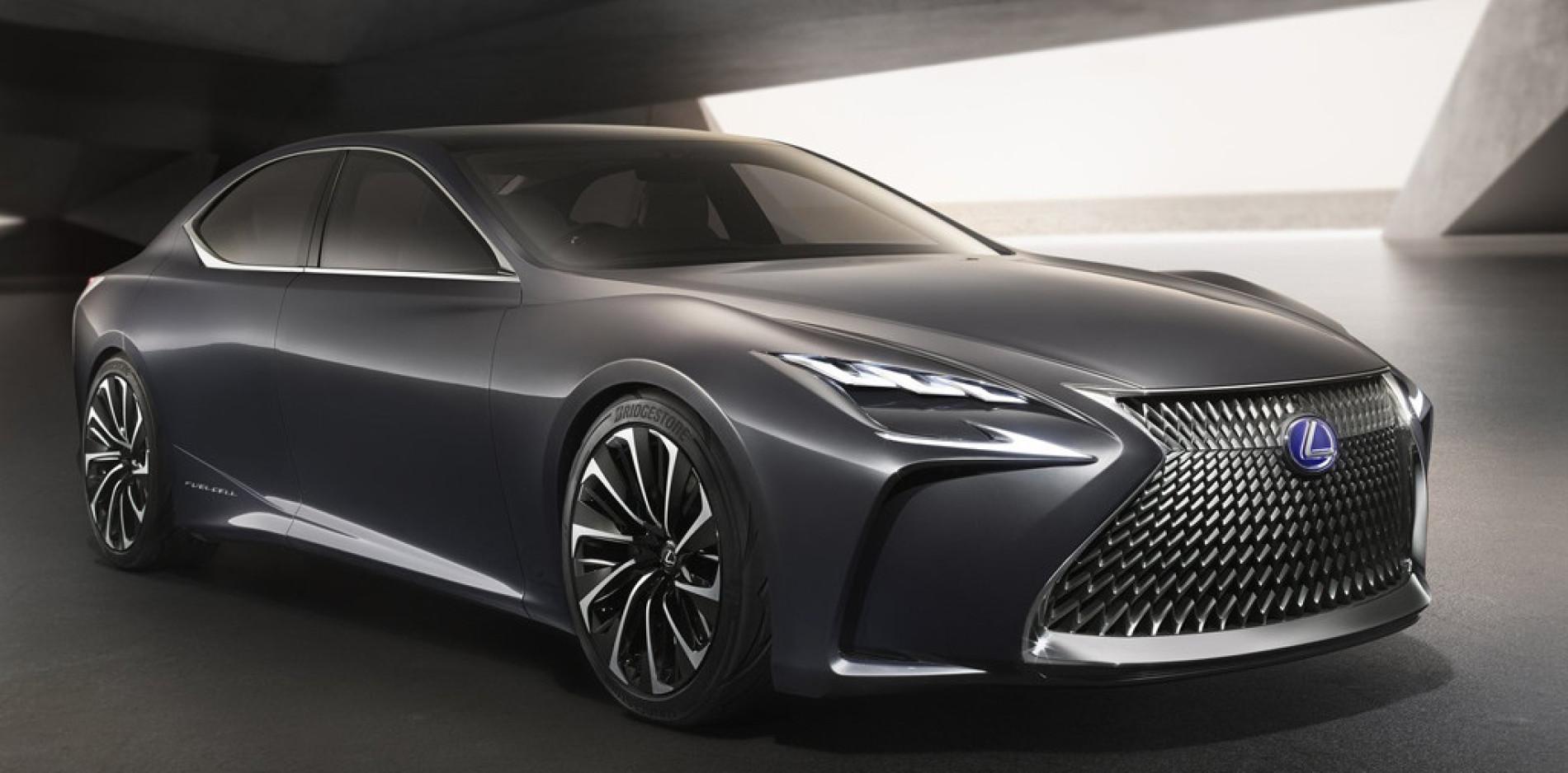 Lexus LF-FC Concept: el futuro LS