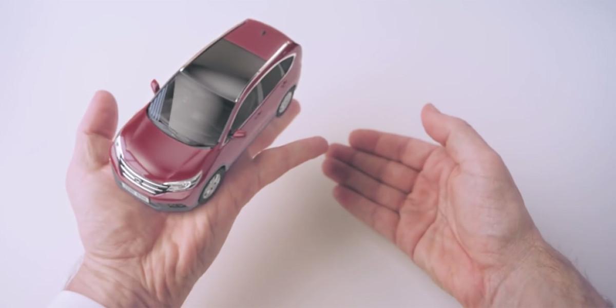 El mágico papel en blanco de Honda