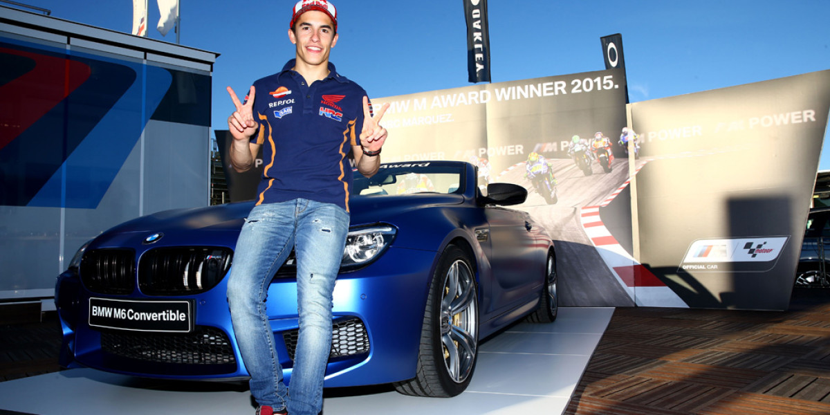 Marc Márquez ha ganado un BMW M6 Cabrio