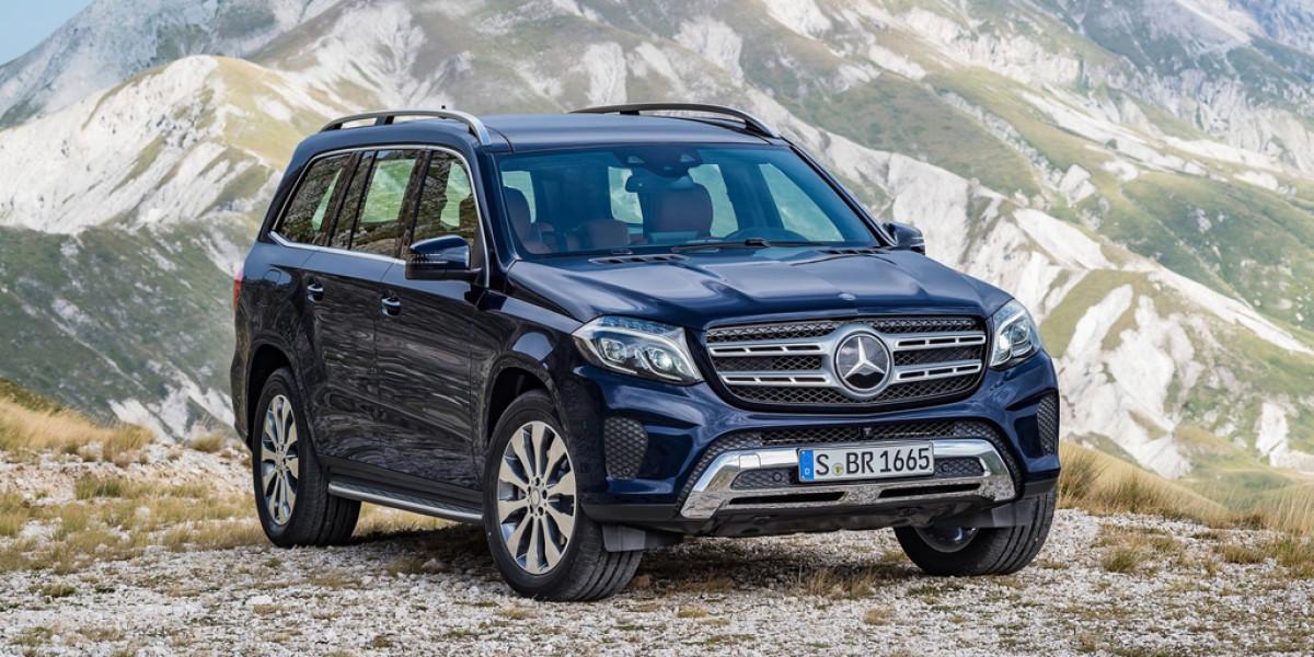 """Mercedes-Benz GLS: """"panzer"""" colosal"""