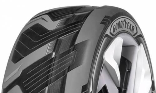 Los neumáticos futuristas de Goodyear