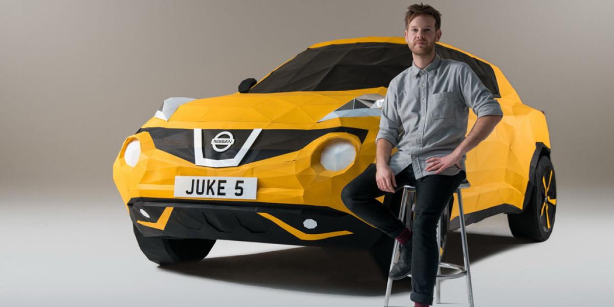 Un Nissan Juke de papel