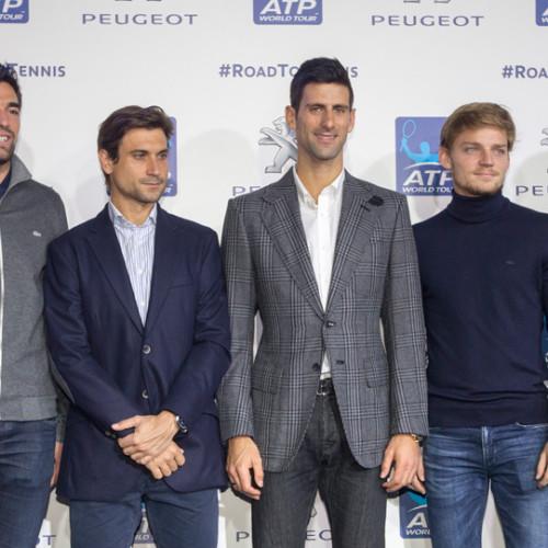 """Peugeot será el vehículo oficial del """"ATP World Tour"""""""