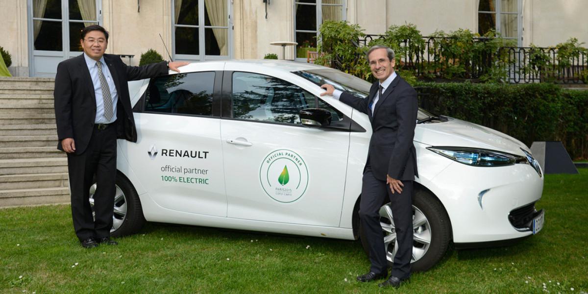 Un Renault ZOE para la Embajada de Francia