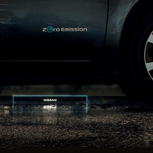 La gasolinera del futuro de Nissan