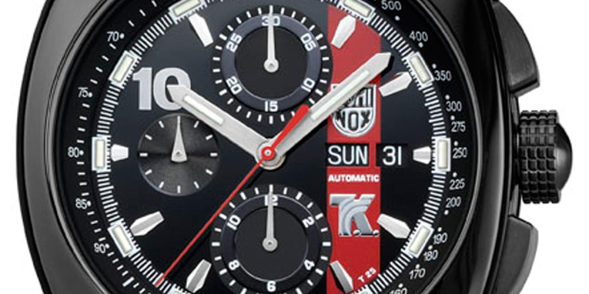 Reloj Luminox Tony Kanaan Valjoux