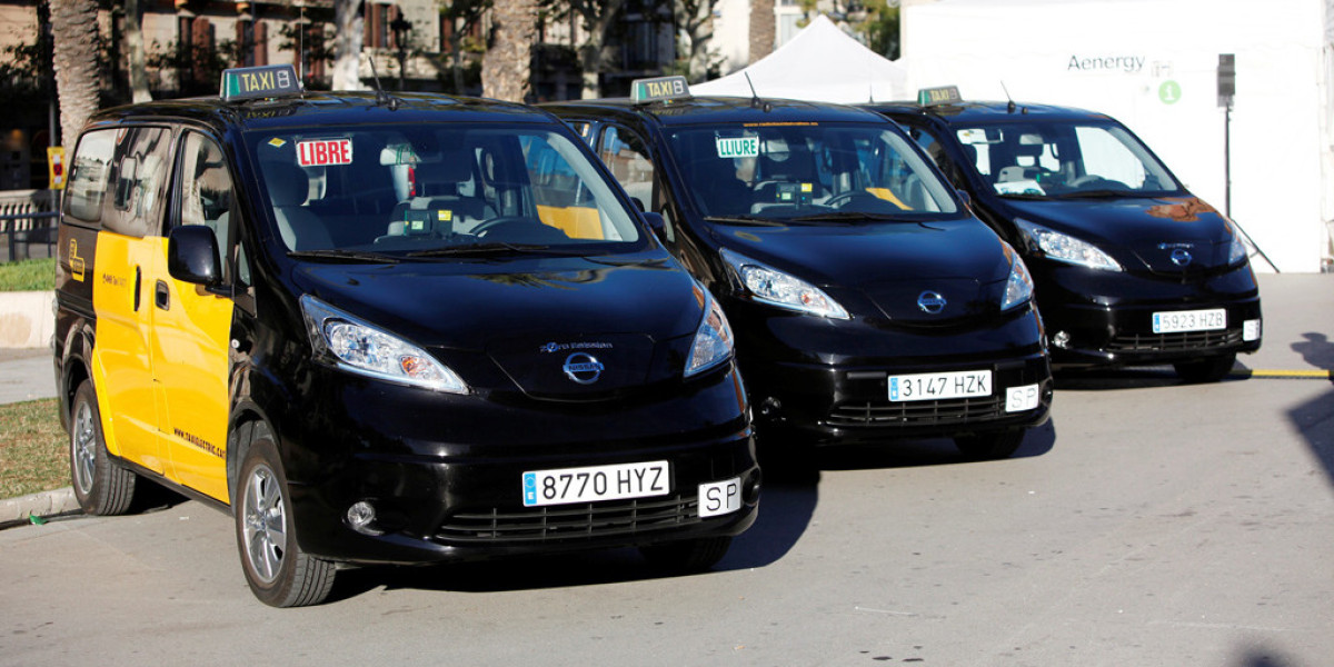 Más de quinientos cincuenta taxis eléctricos de Nissan en Europa