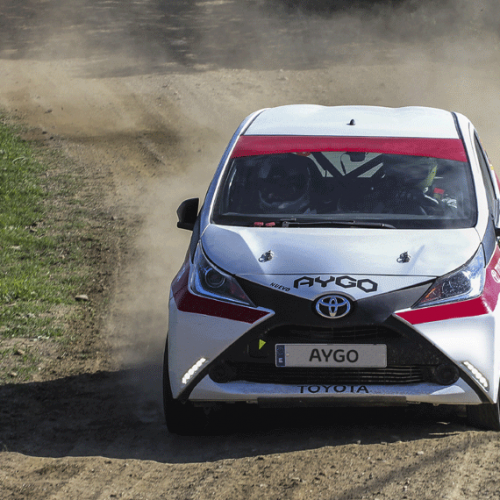 "Un Toyota AYGO ""español"" en el Dakar 2017"