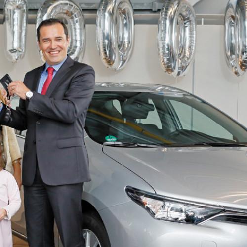 Un millón de híbridos Toyota en Europa