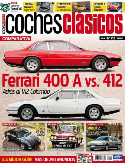 Revista Coches Clásicos Número 132