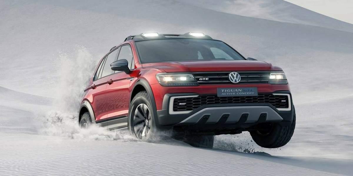 Futuro híbrido enchufable el Volkswagen Tiguan GTE Active Concept