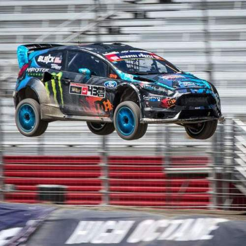 Ken Block pone a la venta su Fiesta WRC de las yincanas