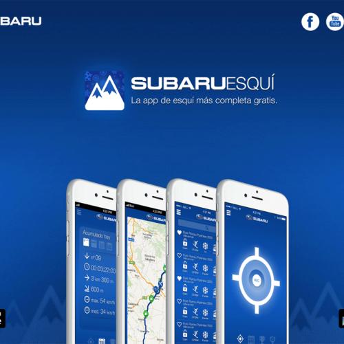 """Información completa con la aplicación """"SubaruEsquí"""""""