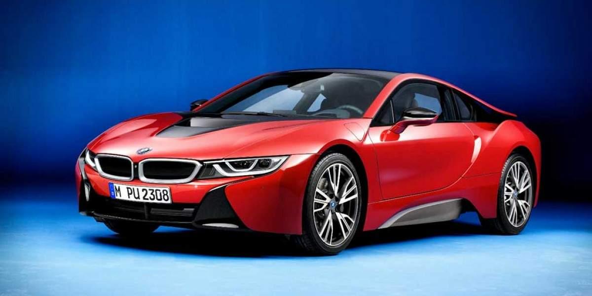 """Todo al rojo: ya puedes tener tu BMW i8 en color """"Protonic Red"""""""