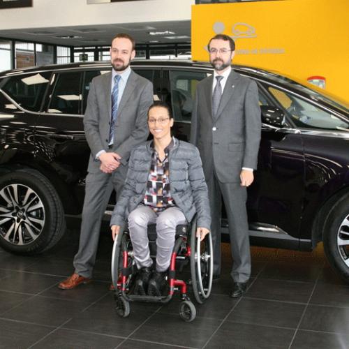 La Fundación Renault y Teresa Perales, juntas dos años más
