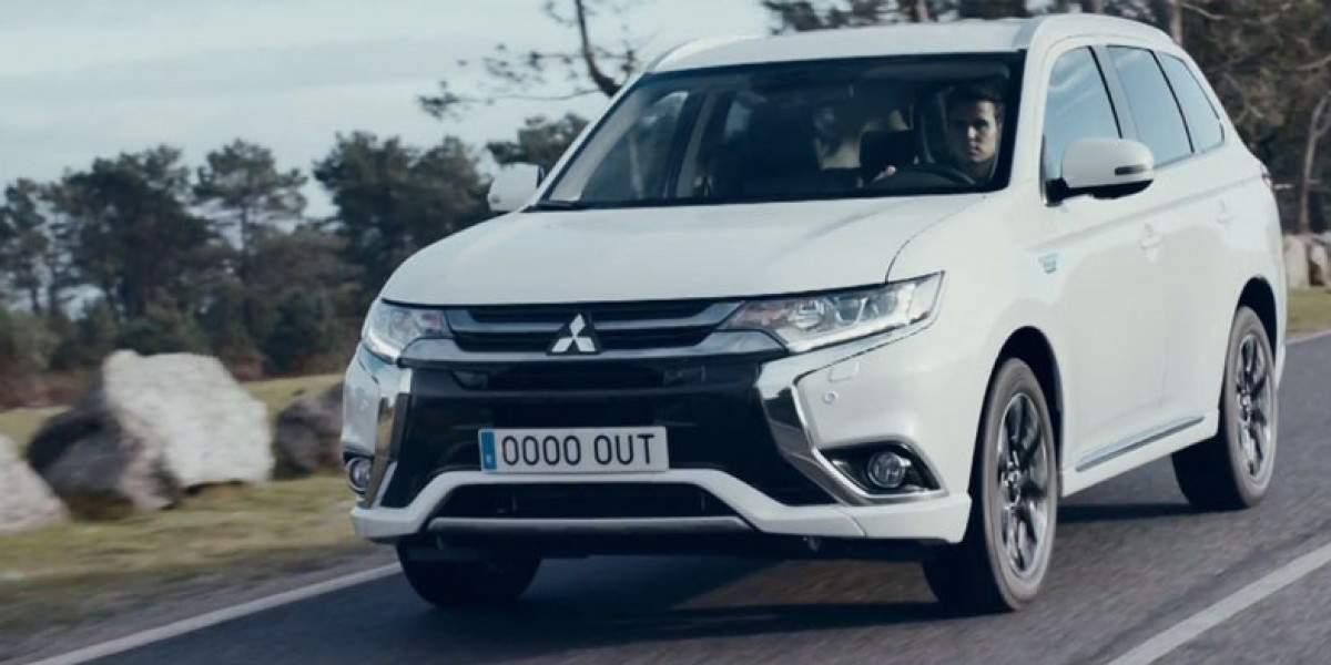 El Mitsubishi Outlander PHEV y Javier Gómez Noya, tres en uno