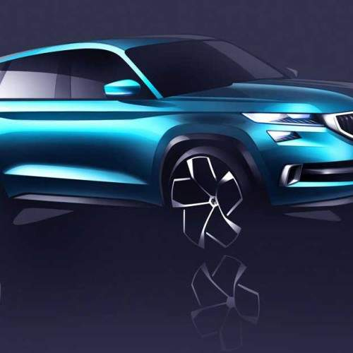 Skoda VisionS, un anticipo del próximo SUV de siete plazas