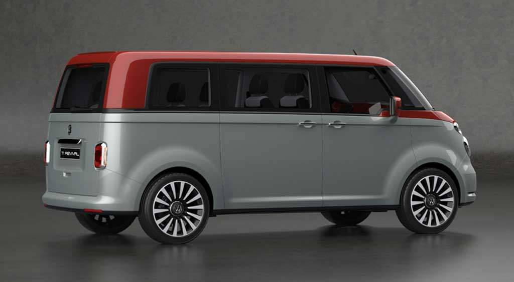 volkswagen t1 revival concept aires cl sicos para la t6. Black Bedroom Furniture Sets. Home Design Ideas