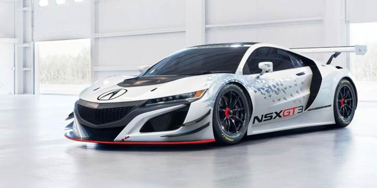 Acura NSX GT3, el coche de Honda para el GT3 on acura si, acura da, acura tsx, acura ls,