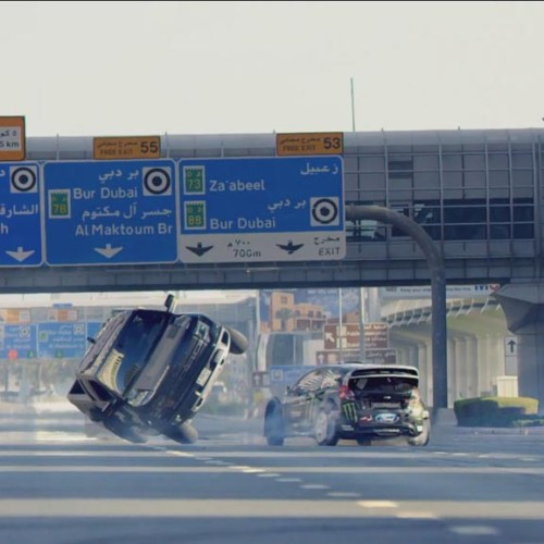 Ken Block derrocha adrenalina pura en Dubái con Gymkhana 8