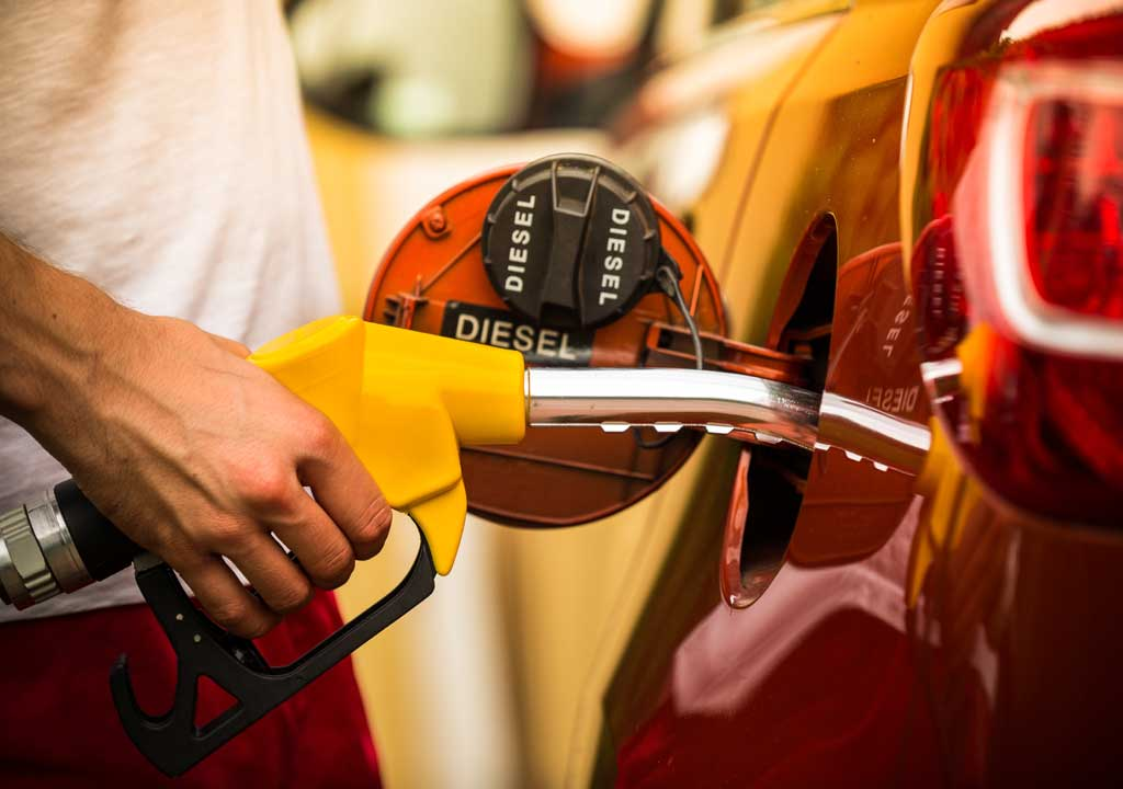 Repostar combustible equivo