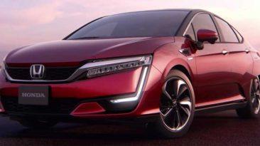 Honda Clarity Fuel Cell Japón