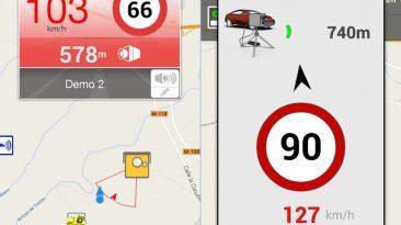 Aplicación móvil para radares
