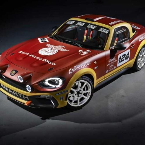 Abarth 124 Spider Rally, el 124 vuelve a la competición