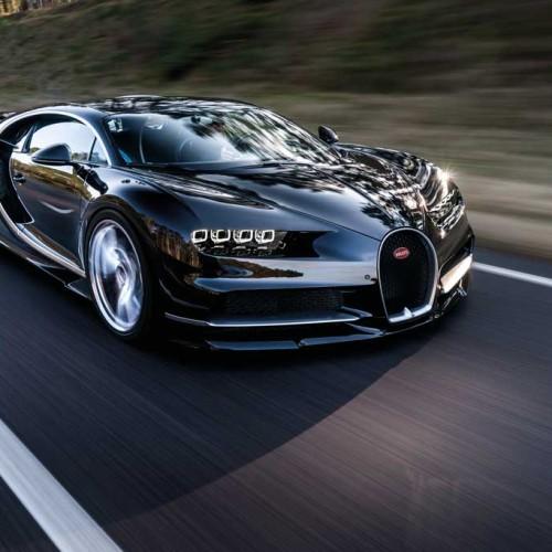Bugatti Chiron 2016, el lujo tiene 1.500 CV de potencia