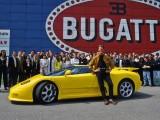 Bugatti EB110 en fábrica