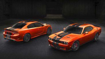 Dodge Charger y Challenger SRT Go Mango