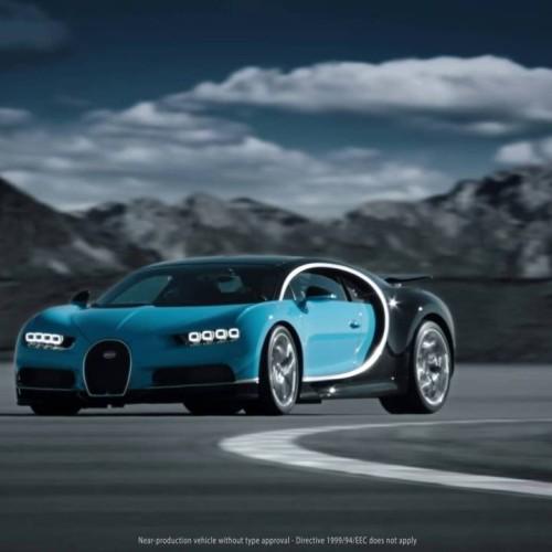 Nuevo Bugatti Chiron 2016, ahora en vídeo