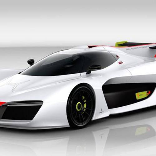 Pininfarina H2 Speed: un coche procedente de los videojuegos, y movido con hidrógeno