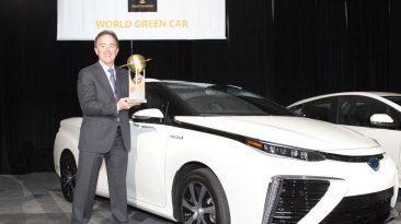 Toyota Mirai Coche Sostenible del Mundo 2016