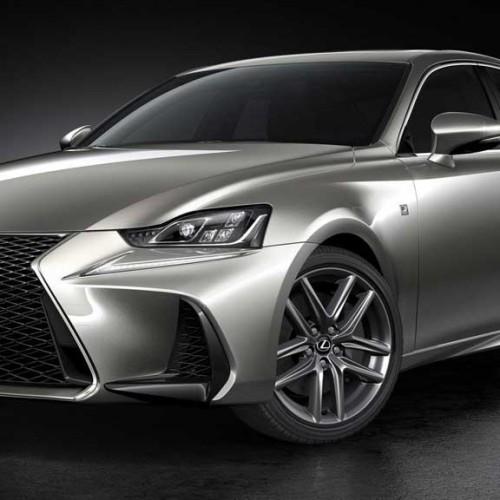 Lexus IS 2017, actualización manteniendo la esencia