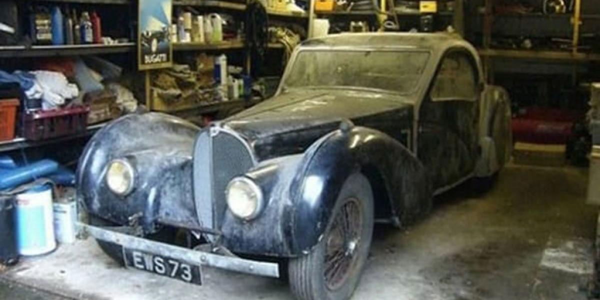 El olvidado Bugatti Type 57 S Atalante del tío gruñón