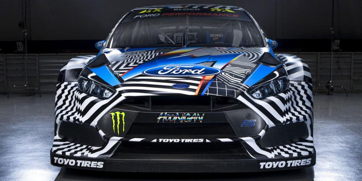 Ken Block ya tiene su Focus RS para el Mundial de Rallycross