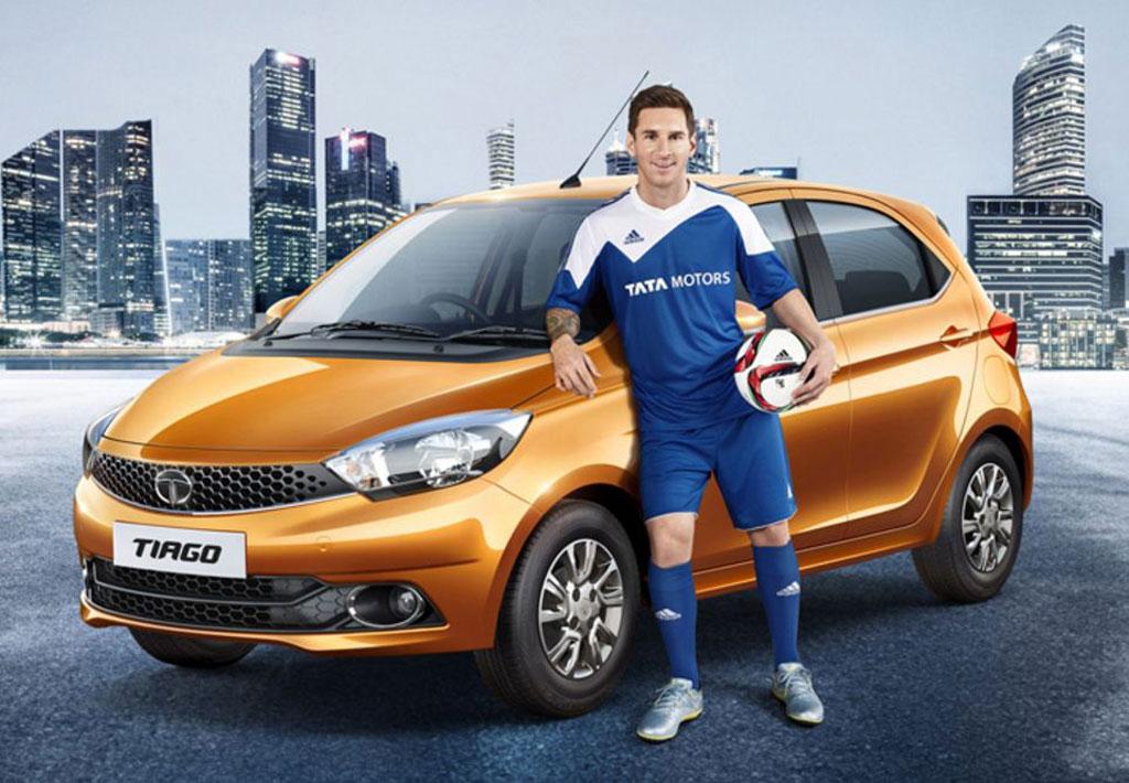 Messi con Tata Tiago