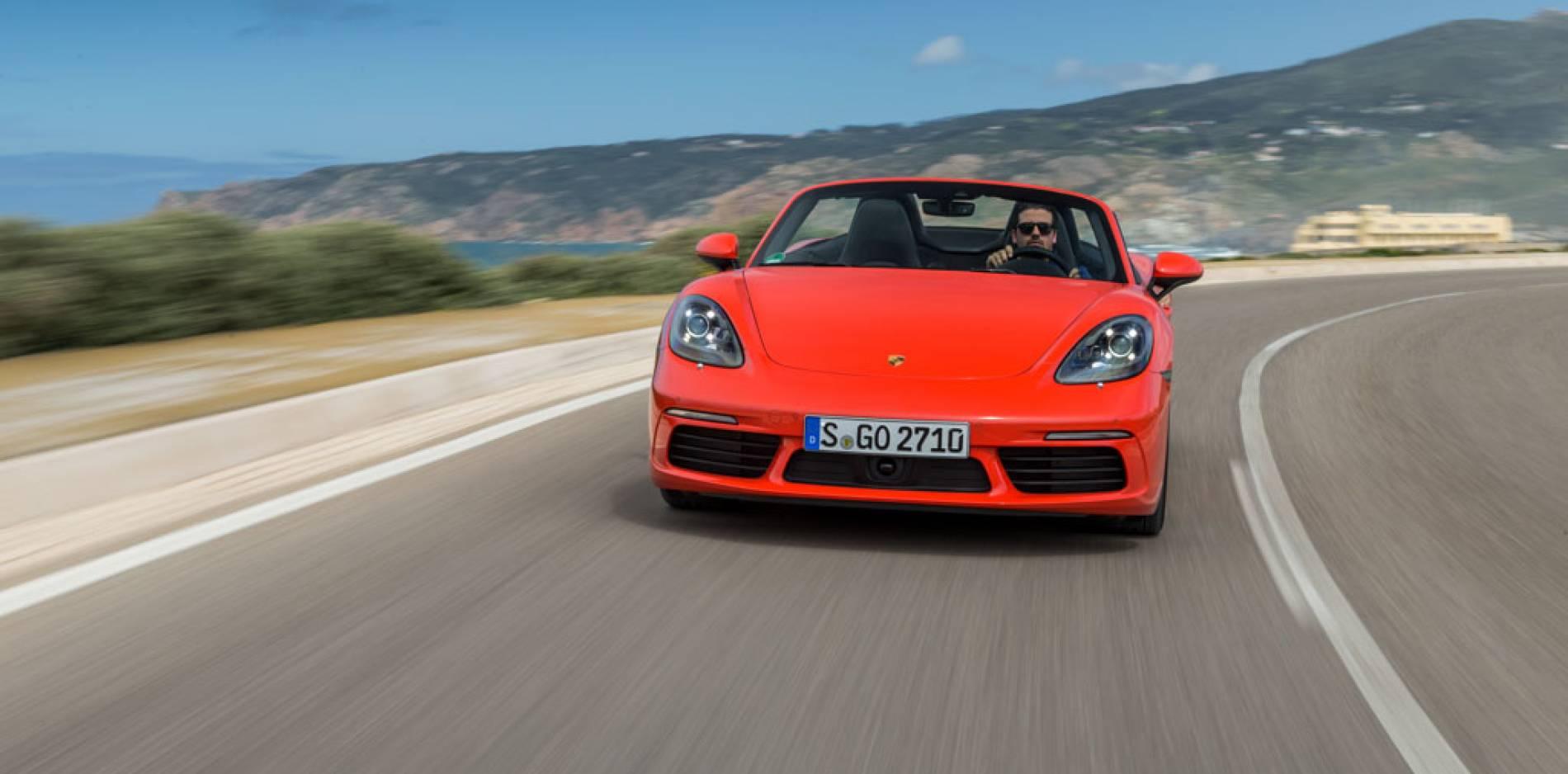 Prueba Porsche 718 Boxster S: tras los pasos del 911